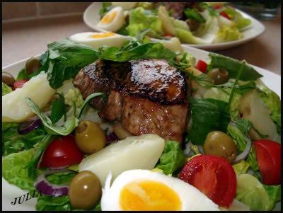 Французская кухня салаты фото